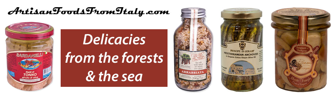 Delicacies from the forests & the sea